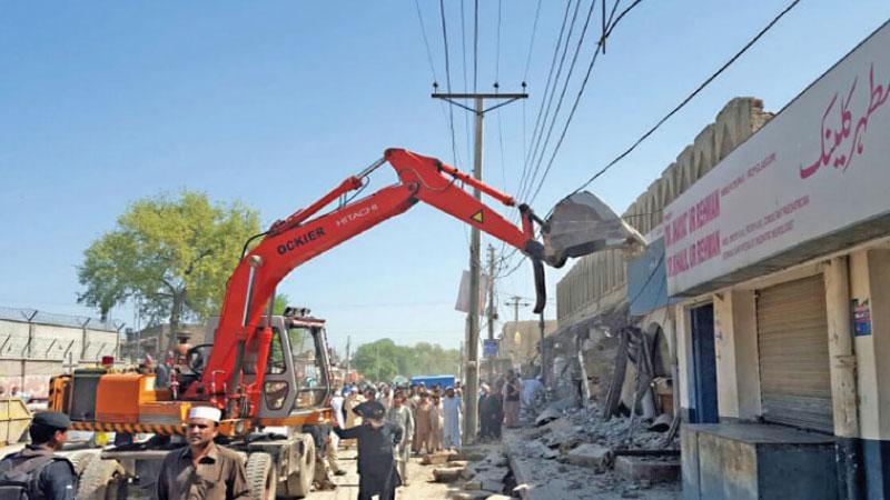 KMC postpones anti-encroachment operations in Karachi's Saddar area