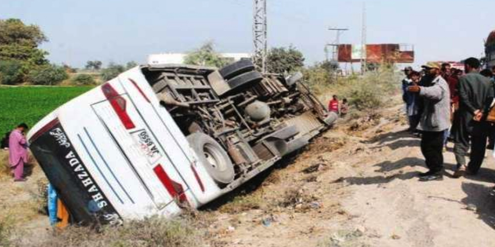 Three persons killed in Ghotki road accident