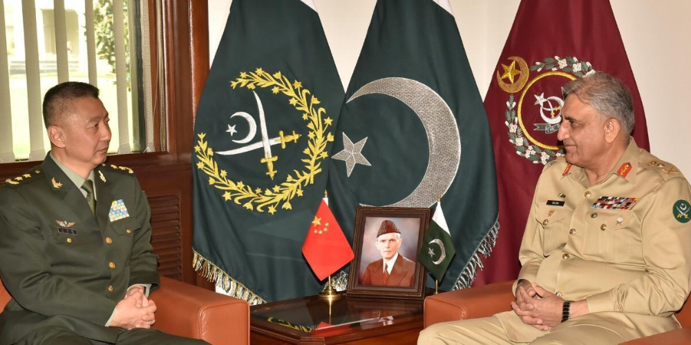 COAS Meets Deputy Commander of People's Liberation Army of China