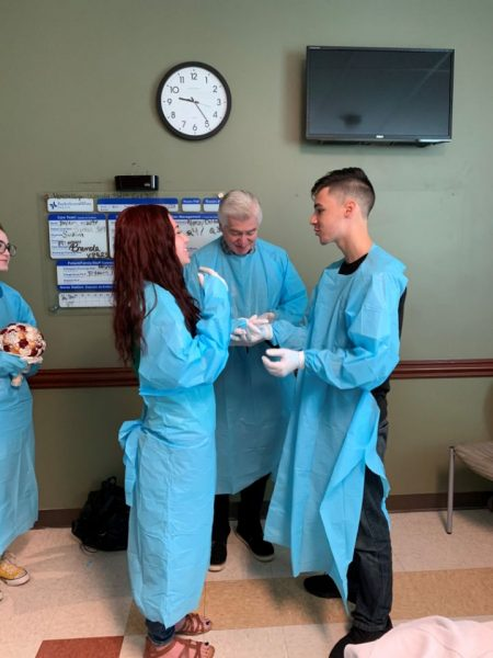 American Couple get married in Hospital