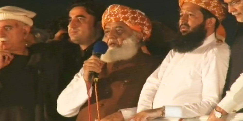 Maulana gives 2 day ultimatum to PM to resign
