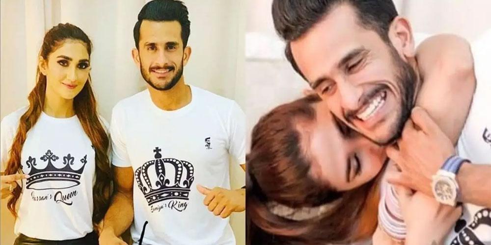 Hasan Ali reaches Pakistan with wife, Samiya Arzoo