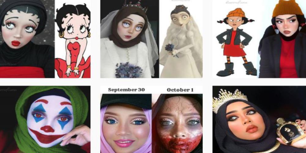 Malaysia-based makeup artist Queen of Luna