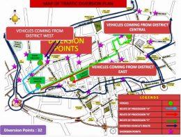12 Rabi-ul-Awwal Traffic Plan