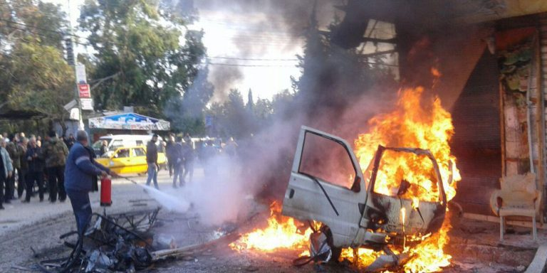 14 killed in car bomb blast in Turkish-controlled Syrian town