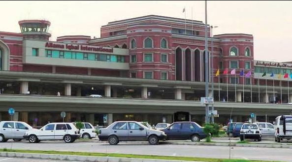 Allama Iqbal Int'l airport's website remains down