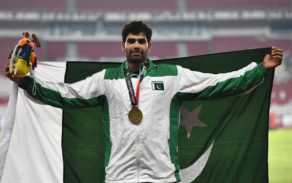 Javelin thrower Arshad Nadeem achieved a milestone