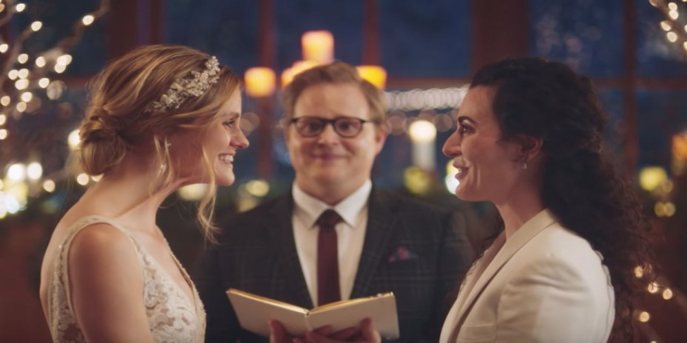 Hallmark Channel faces bitter criticism over same gender wedding ads
