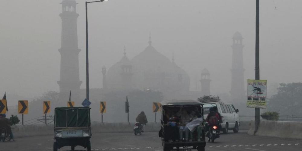 Lahore fog