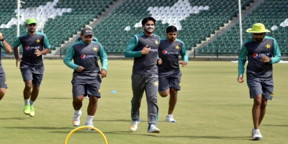 Pakistan team in Karachi