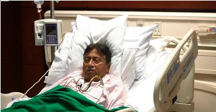 Musharraf's video message from Dubai