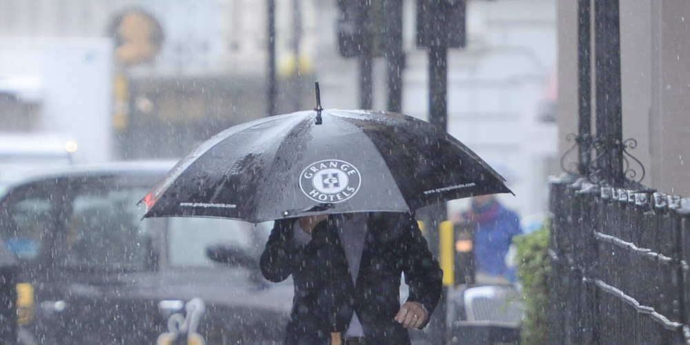 Rainfall warning issued for three weeks by UK Met department