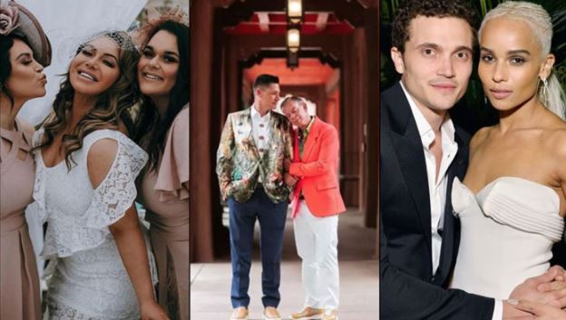 Top celebrity weddings which trends on Google