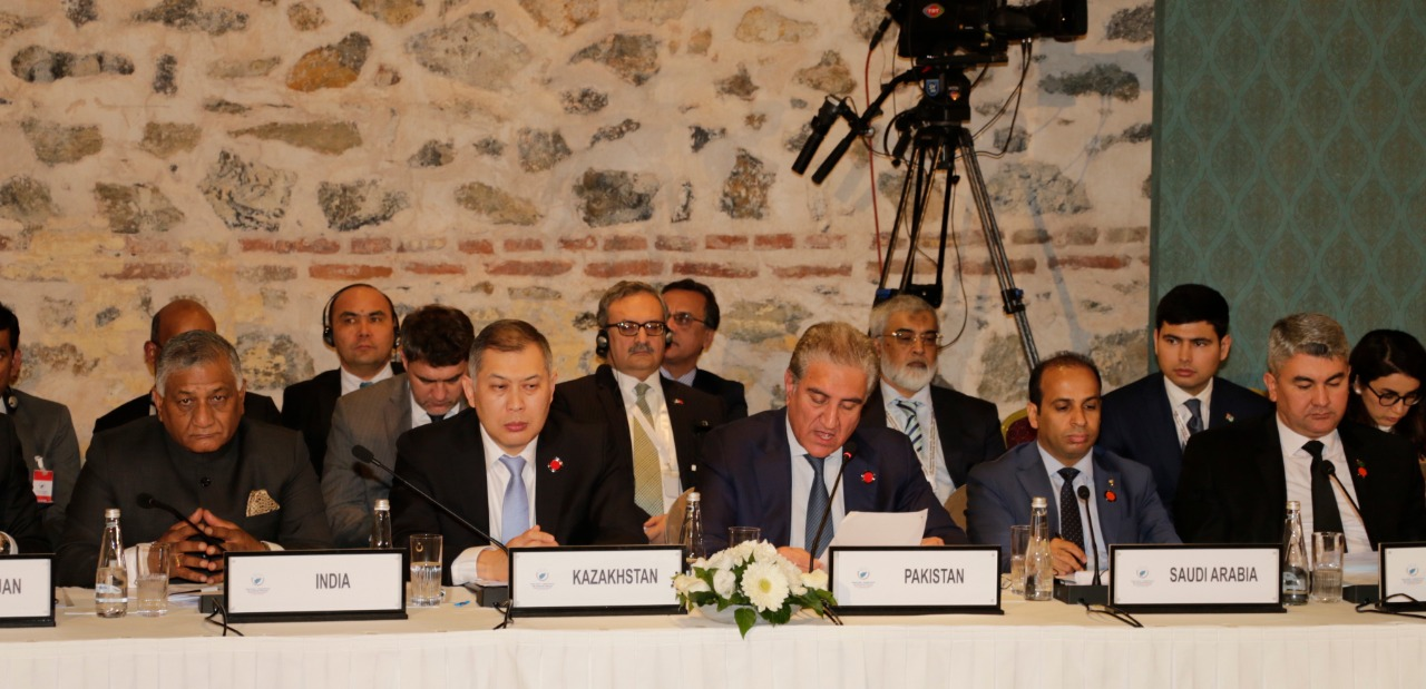 FM Qureshi addresses Heart of Asia Conference
