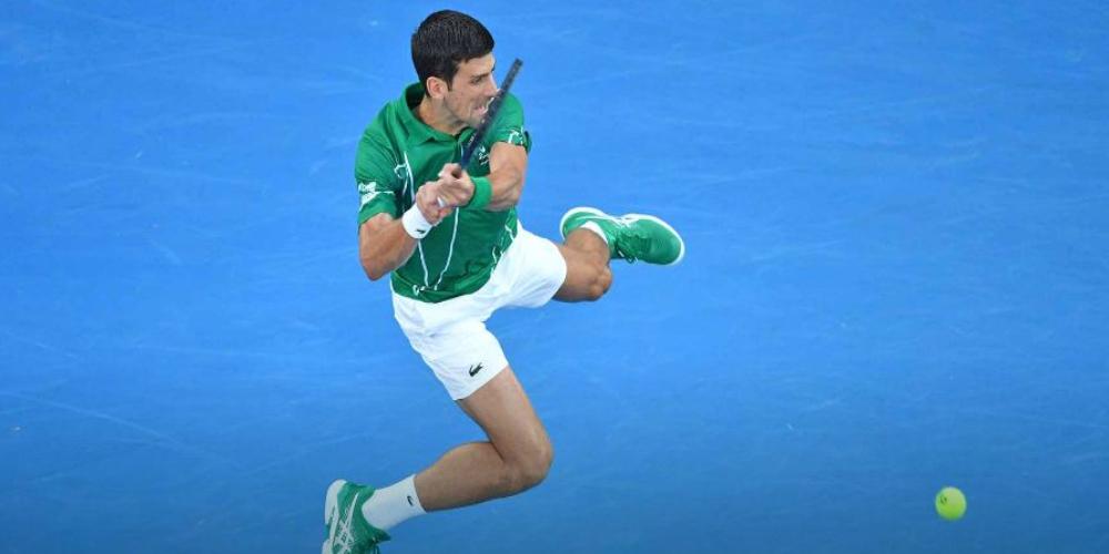 Brilliant Djokovic