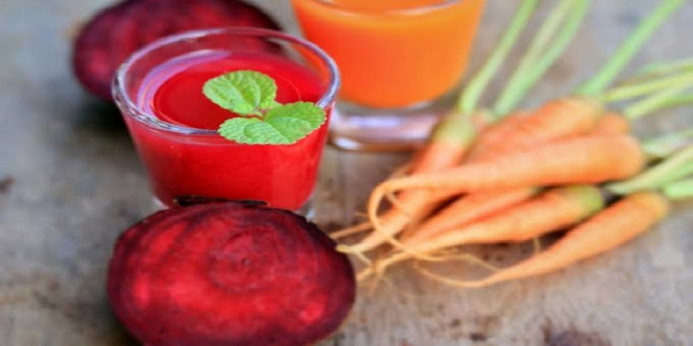 beetroots and carrots