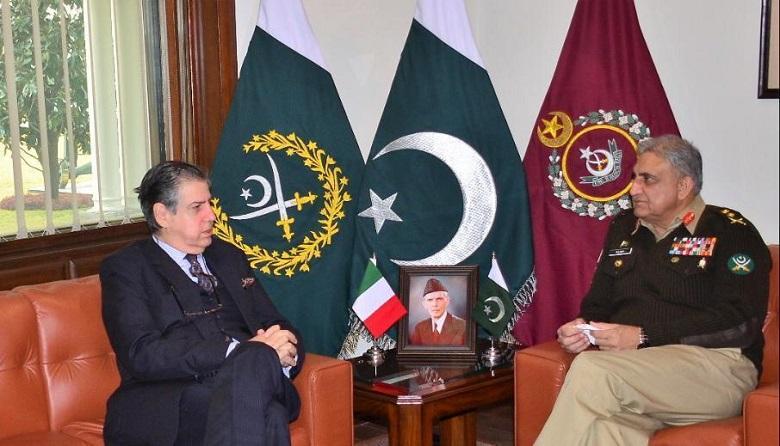 coas with Italian ambassador