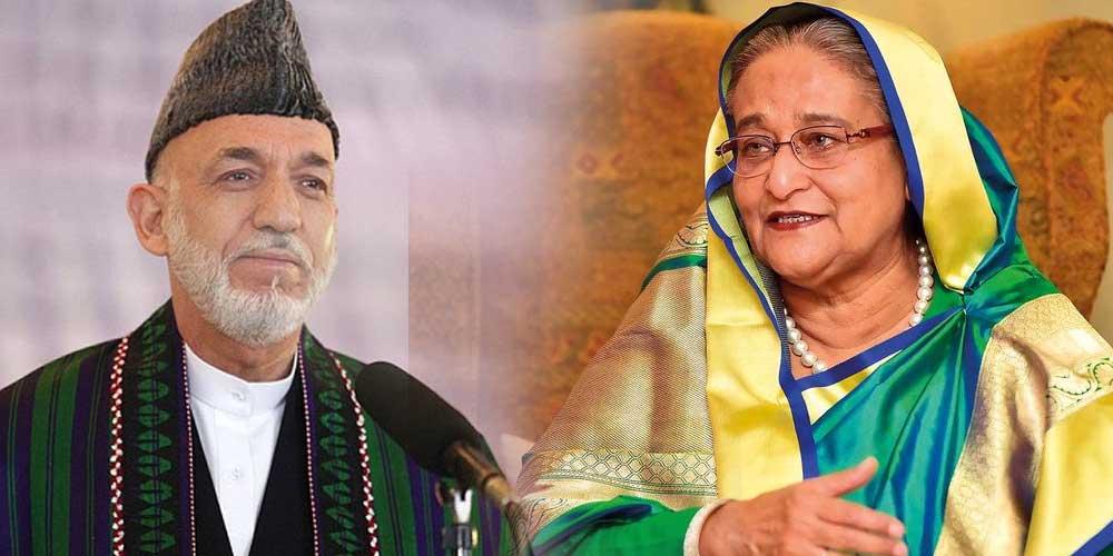 Hamid Kazai & Sheikh Hasina criticize Indian Citizenship Act