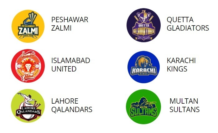 PSL 5 Schedule and timetable