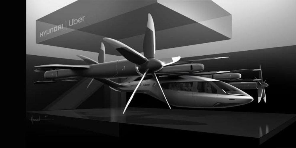Uber unveils design for air taxi