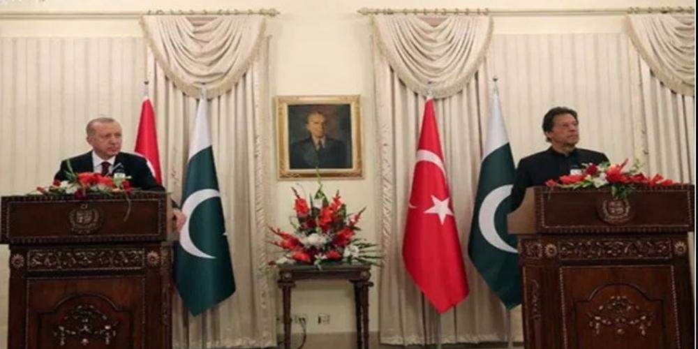 PM Imran, President of Turkey Erdogan hold Joint Press Conference