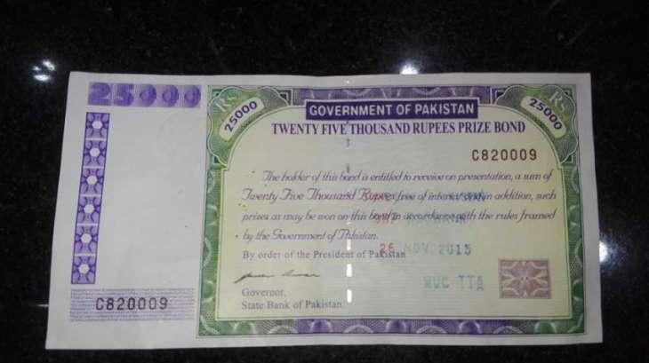 25000 prize bond list 2021