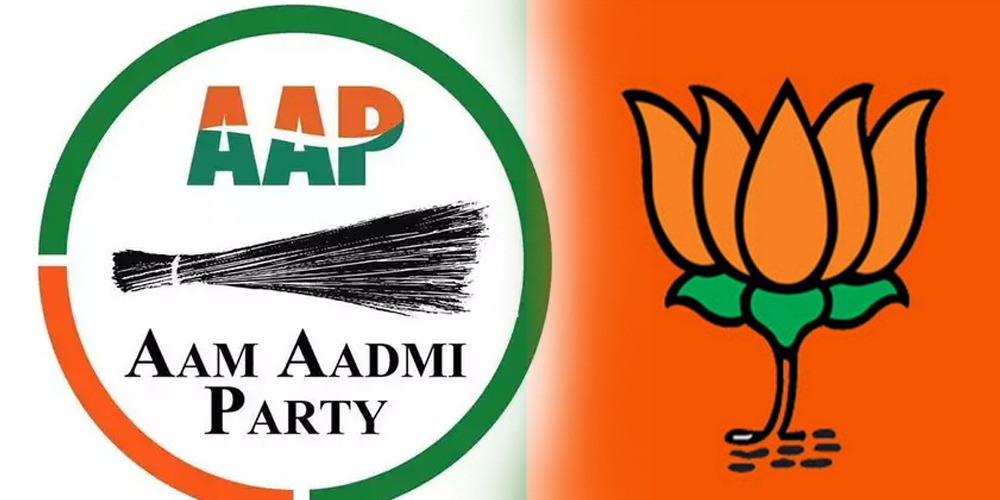 Delhi elections-AAP leading while BJP 'not winning'