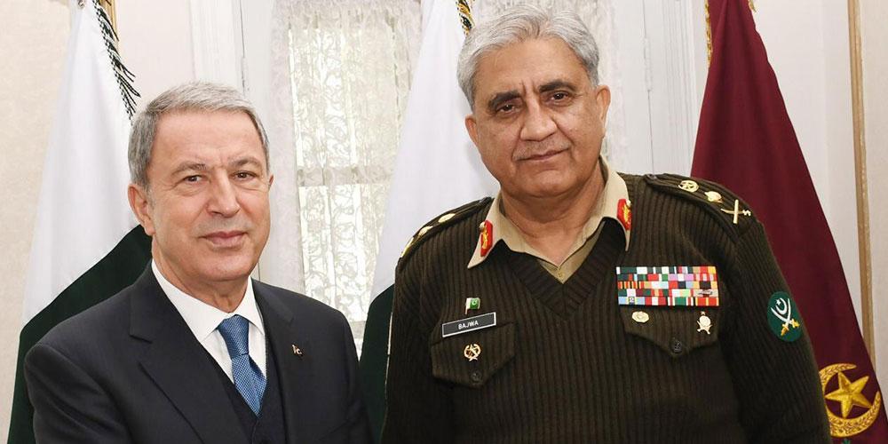 COAS calls on Turkish Defense Minister