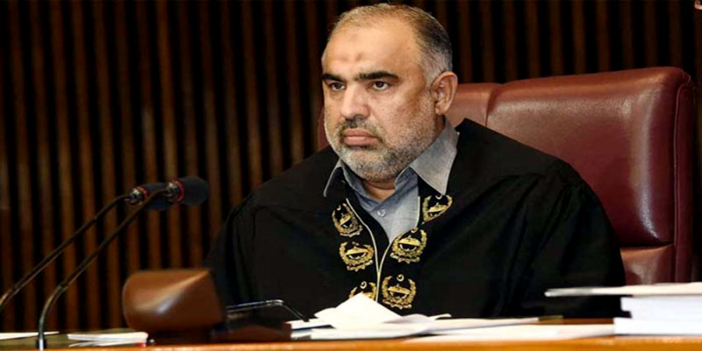 Speaker National Assembly Asad Qaiser contracts coronavirus