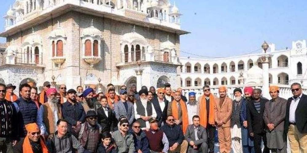 Gurdwara Panja Sahib in Hassanabdal