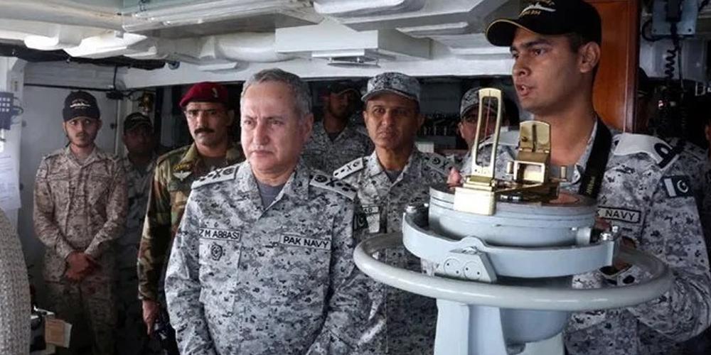 Pakistan Navy's exercise