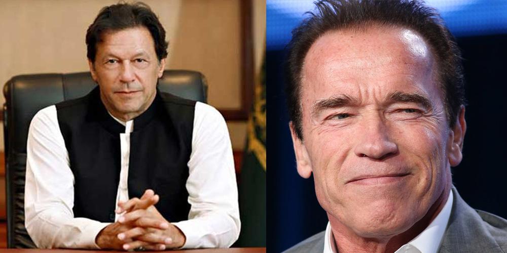 Arnold Schwarzenegger sends invitation to PM Imran for Austrian World Summit