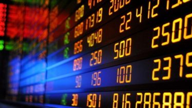 KSE 100 index by 3.3%