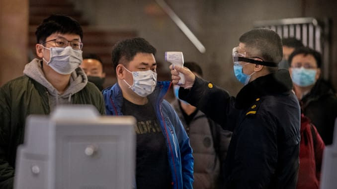 """China reported """"No"""" coronavirus deaths for the first time today"""