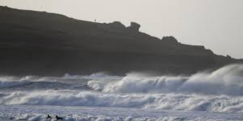 A person died as he fell into the river on Sunday as storm Dennis hit Britain.