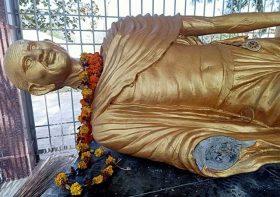 Gandhi's statue found vandalized in Jharkhand, India