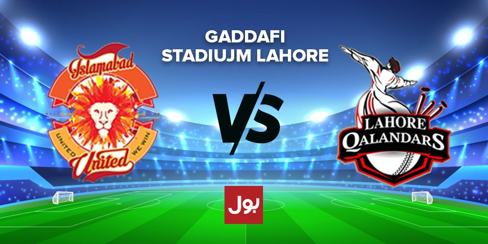 PSL 2020-Lahore Qalandars to play against Islamabad United tonight