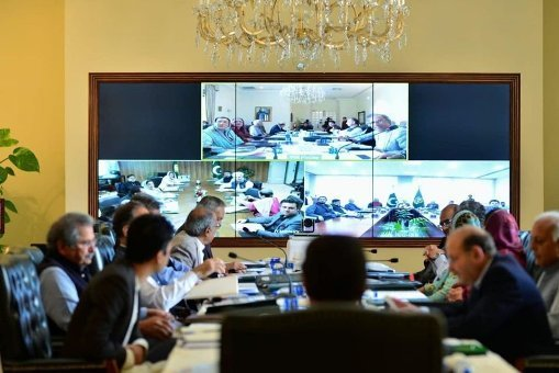 PM chairs cabinet meeting over COVID-19