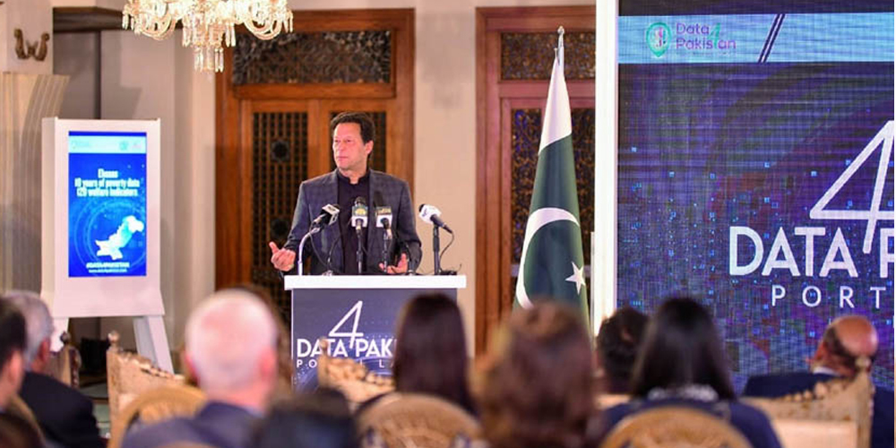PM launches Data4Pakistan Portal in collaboration with World Bank