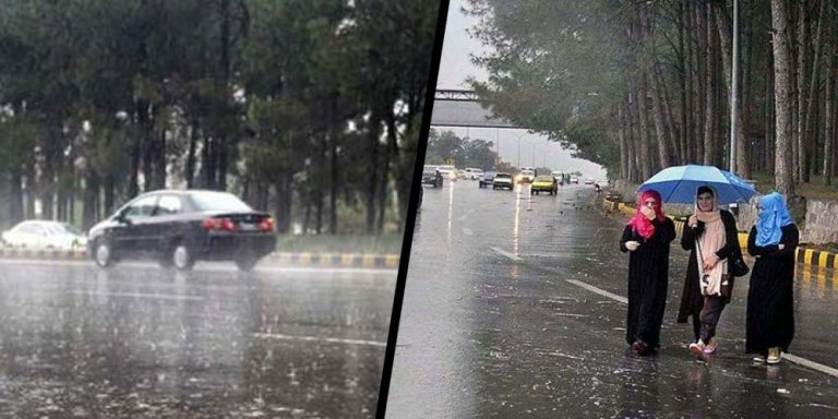 Rain forecast in different parts of the country including Karachi from tomorrow