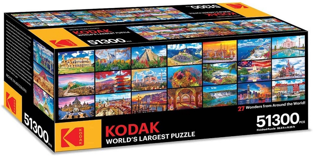 Kodak launches the world's largest puzzle