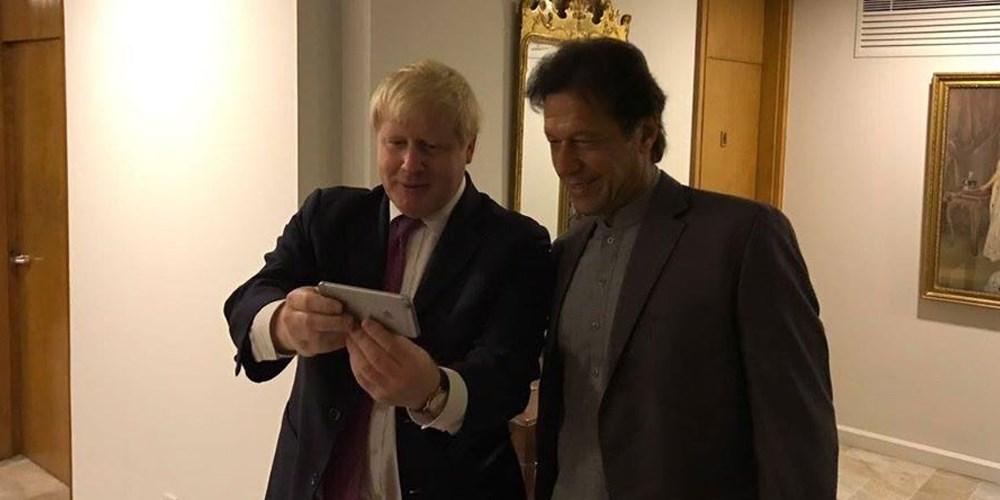 PM Imran conveys prayers for the earliest recovery of Boris Johnson