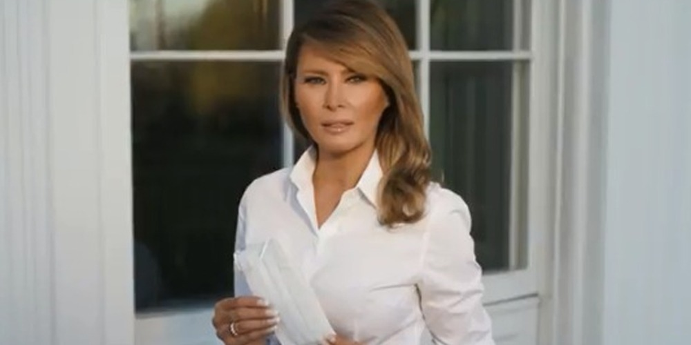 Coronavirus: US first Lady Melania Trump gives message about face masks