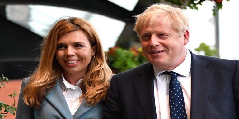 Boris Johnson's fiancée Carrie Symonds shows symptoms of COVID-19