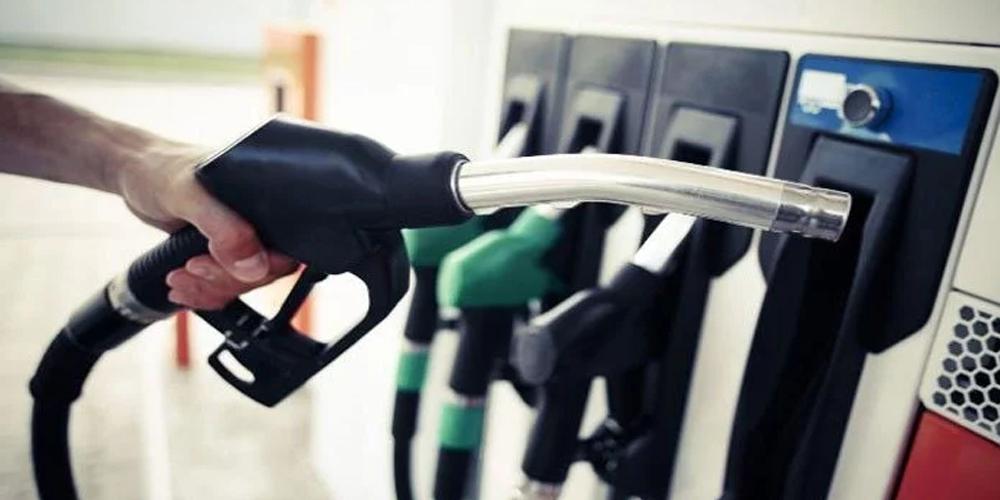 Petrol at pump stations