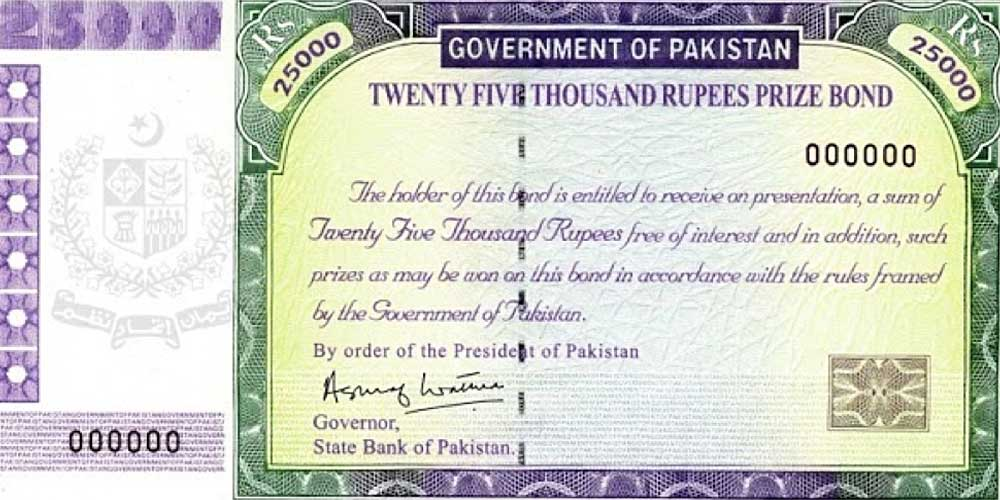 Rs 25000 Prize Bond Draw Result