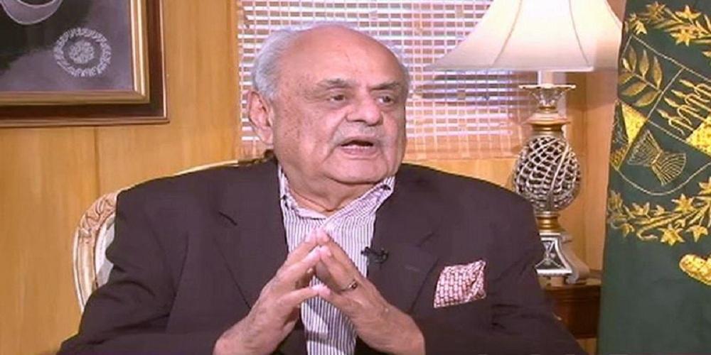 Interior Minister Ijaz Shah visits the residence of Late Pilot Sajjad Gul