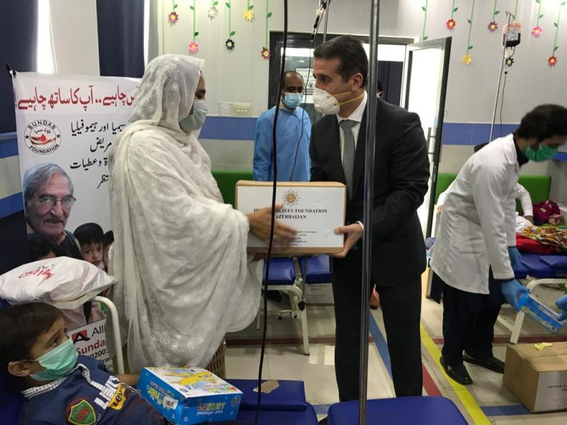 Azerbaijan envoy visits Sundas Thalassemia Center
