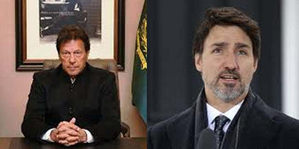 Imran Khan and Justin Trudeau