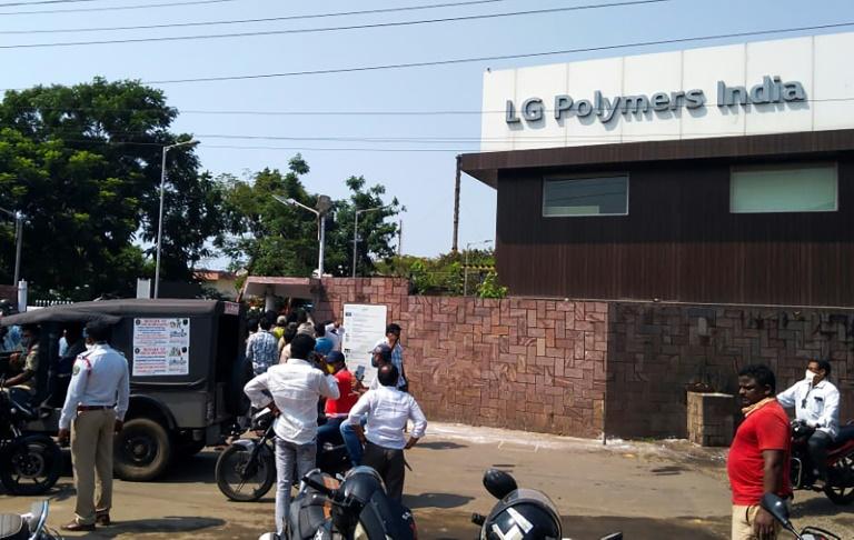 Gas leakage India